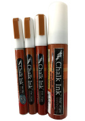 Chalk Ink Chalk Markers Variety Tip White 4 Pack