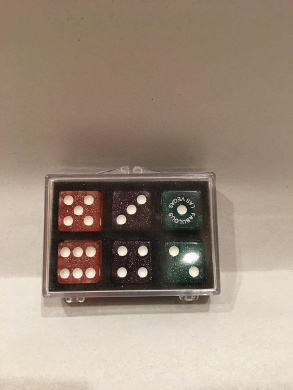 6 Las Vegas Dice Pack