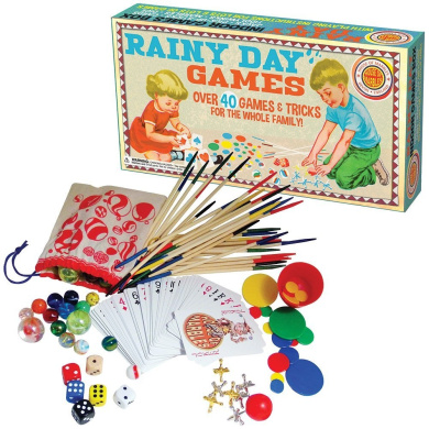 Retro Rainy Day Games - Over 40 Activities And Tricks For The Whole Family