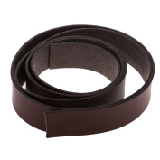 MonkeyJack 2 Metres 20mm Faux Leather Strip Strap Leather Craft Belt Handle DIY Coffee