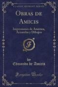 Obras de Amicis [Spanish]