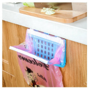 Kemilove Collapsible Practical Hanging Kitchen Cupboard Cabinet Tailgate Stand Storage Garbage Bag Holder Plastic Bracket