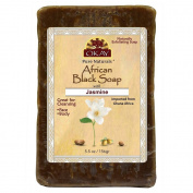Okay African Black Soap, Jasmine, 160ml