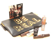 Benefit They're Real Be Real Makeup Bag with Four Mini Travel Size Mascara Primer Remover Lip Colour Ulta Set