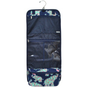 Baby Elephant Print NGIL Toiletry Cosmetic/Jewellery Organiser Travel Pouch