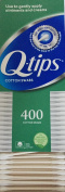 Q-Tips Cotton Swabs, q-tips pull to slide open 400 Count