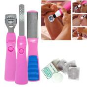 Alonea Callus Corn Hard Skin Remover Shaver Foot Rasp File Pedicure Scraper Kit Blades