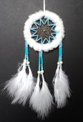 Dream catcher white turquoise dreamcatcher