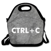 Ctrl C Large & Thick Insulated Tote Lunchbag Yeti Lunch Bag For Men Women Kids Art Of Lunch