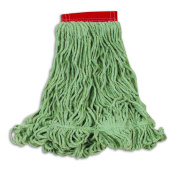 Rubbermaid Commercial Super Stitch Blend Mop, Large, Green, FGD25306GR00