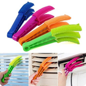 Grocery House Microfiber Blind Duster Brush Cleaner for Air Conditioner Window Shades Blinds Jalousie Shutter
