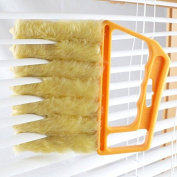 Grocery House Microfiber Blind Shutter Brush Duster Cleaner with Removable Brush head