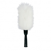 Libman Commercial 586 Lambs wool Duster, Polypropylene Handle, 50cm total height, Black Handle