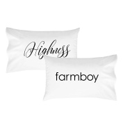Oh, Susannah Highness Farmboy Pillowcase Set - Fits Standard Pillow Inserts