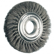 20cm Knot Wheel Brush Double Row .012 Cs Wire