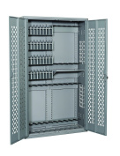 Datum Storage AWC72H18R40P-WS25 Argos Hinged Door Weapons Cabinet Holds 18 Rifles & 40 Pistols, 180cm , Stealth
