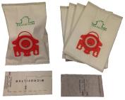 5 Miele FJM Micro F Vacuum Bags & 2 Filters Kit By Aqua Green