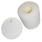 EcoMaid Foam & Felt Filters for Shark Navigator Powered Lift-Away Deluxe NV650, NV651, NV652, NV750, NV751, NV752, NV753 Part # XFF650