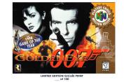 RARE POSTER thick GOLDENEYE 007 video game 1997 nintendo BOX REPRINT #'d/100!! 12x18