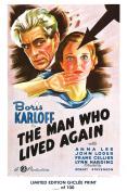 RARE POSTER thick THe MAN WHO LIVED AGAIN movie 1936 boris karloff HAMMER REPRINT #'d/100!! 12x18