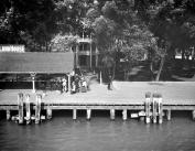 1900-1920 Star Island House, St. Clair Flats, MI Vintage Photograph 22cm x 28cm