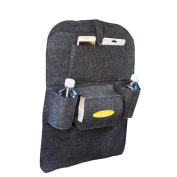 OUBAO 2017 Car Auto Seat Back Multi-Pocket Storage Bag Organiser Holder Hanger