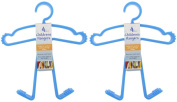 Baby Boys Childrens Toddler Clothes Hanger Set - 8 Hangers