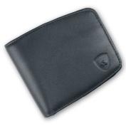 Guard Dog Security Premium Handmade Leather RFID Blocking Ultra Slim Wallet, Black