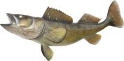 Walleye Fish Wall Mount Fish Replica, Fishing Wall & Coastal Decor