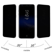 For for Samsung Galaxy S8 Plus,Tiean Privacy Full Screen Protector Anti-Spy Tempered Glass