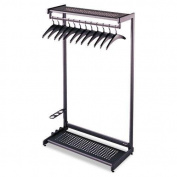 QRT20222 - Quartet Two-Shelf Garment Rack