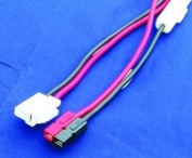 MFJ-5512M DC power cable for mobiles, T-style w/ PowerPoles
