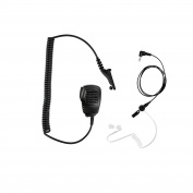 Maxtop APM100ARP25-M9 Light Duty Shoulder Speaker Microphone for Motorola with Receiving Only Earphone