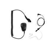 Maxtop APM100ARP25-H5 Light Duty Shoulder Speaker Microphone for Hytera with Receiving Only Earphone