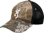 Browning Womens Tagged Out Cap Realtree Xtra Camo With Violet