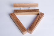 Jobillo (Tigerwood) 2.2cm Pen Blanks - 4 Pack