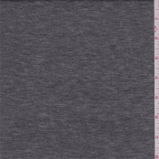 Heather Pewter/Silver Stripe Jersey Knit, Fabric Sold By the Yard