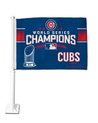 MLB Chicago Cubs World Series Champs Car Flag