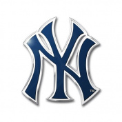 New York Yankees Colour Auto Emblem - Die Cut