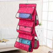 Hever Non woven Hanging Handbag Storage Shelf Organiser Collection Handbag File