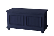 Salem House Country Cottage Storage Trunk Wood Top, Twin, Blueberry