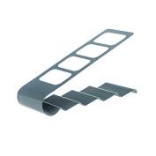 Foutou Storage Rack TV/DVD/VCR Organiser 4 Frame Remote Control Cradle Mobile Phone Holder Stand