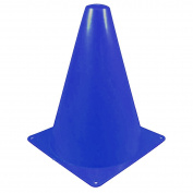 Dealglad® 6pcs Sport Football Soccer Skating Training Safety Agility Marker Cones Traffic Cones Practise Slalom 23cm