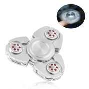 NiUB5 Tri Spinner Fidget Toy -- EDC Focus Toy for Tri-Spinner Fidget EDC ADHD Focus Toy With Longer rotation, More Stable and Smaller Friction, Great for Anxiety Relief & Deep Thought