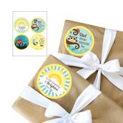 Teacher Appreciation Gift Stickers - 4 Piece