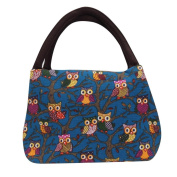 TONSEE Owl Tote Picnic Lunch Cool Bag Cooler Box Handbag Pouch