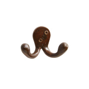 RCH Hardware Decorative Iron Wall Hook 2 Arms
