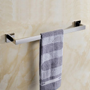 Mellewell Contemporary Towel Bar Wall Mounted, Polished Stainless Steel, 06CP01