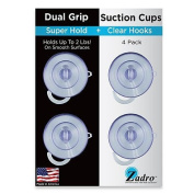 Zadro 4-Pack Z-Super Hold Suction Cups