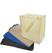 SHOPINUSA Buy Bulk (12Pack ) Large Size Non Woven Shopping Tote Bag w/Gusset 38cm x 43cm x 20cm